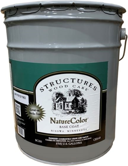 NatureColor Base Coat - Exterior Stain - 5 Gallons