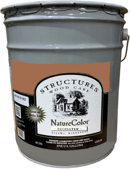NatureColor Recoater - Exterior Stain - 5 Gallons
