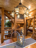 tread treads step steps log timber stairs stairway loft deck porch riser cabin rustic log home country horse farm getaway heaven