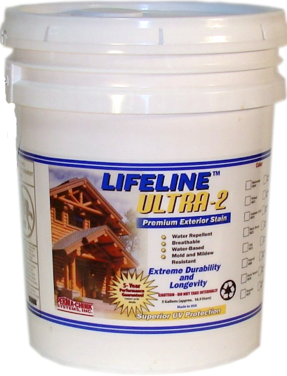 Lifeline Ultra-2 - Exterior Stain - 5 Gallons