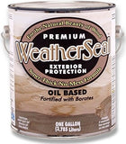 WeatherSeal™ - Premium Exterior Wood Stain & Sealant - 1 Gallon