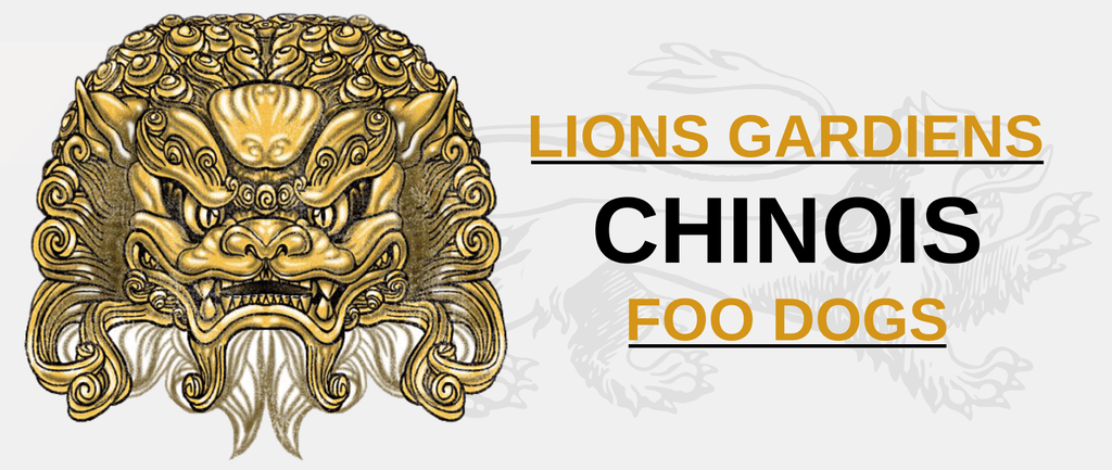 Lion Gardien Chinois - Foo Dogs