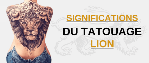 Signification tatouage lion.
