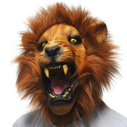 Masques Lion.