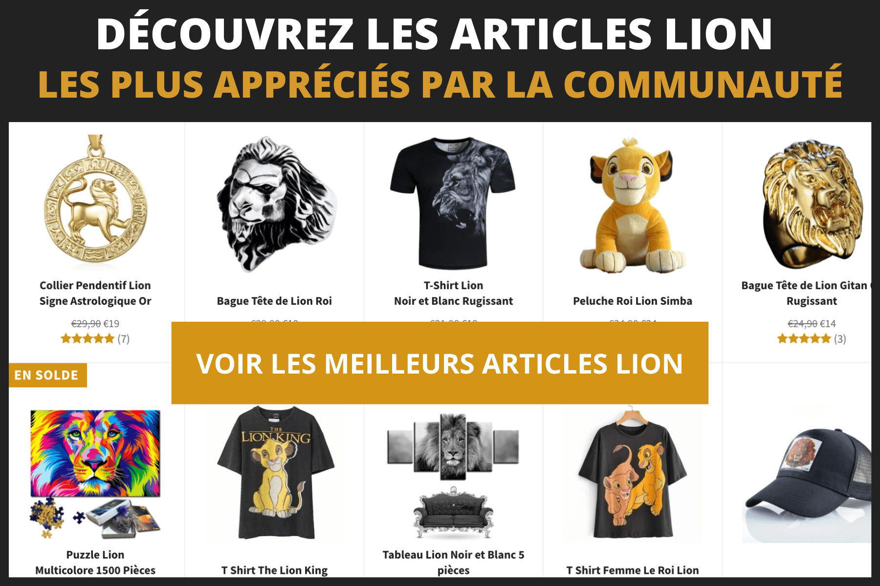 Articles lion.