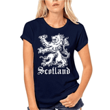 T-Shirt Lion Woman Marine