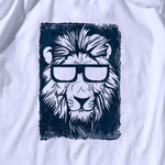 t shirt lion lunette