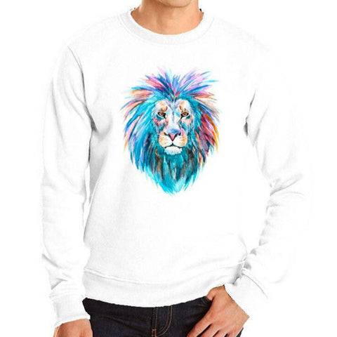 Pull Lion Multicolore