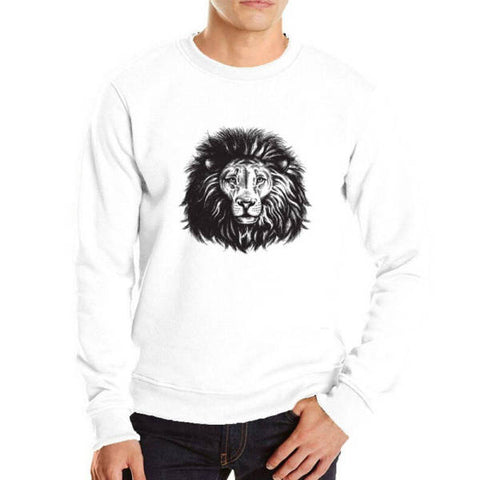 Pull Lion Homme Sauvage