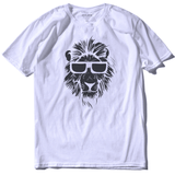 T-Shirt Lion Cool Blanc