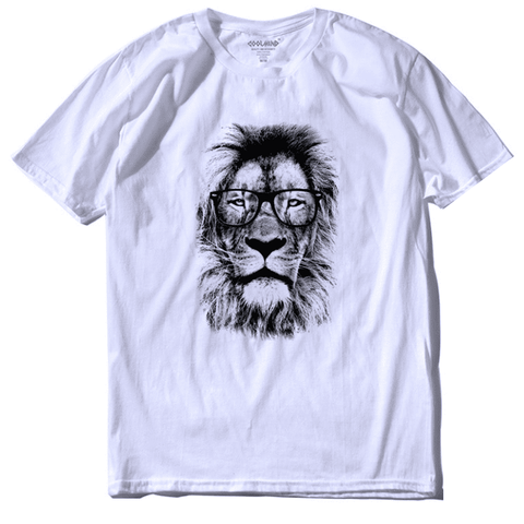 T-Shirt Lion Man Cool