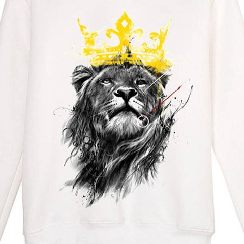 Homme Pull Lion