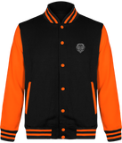 Veste lion royaume orange.