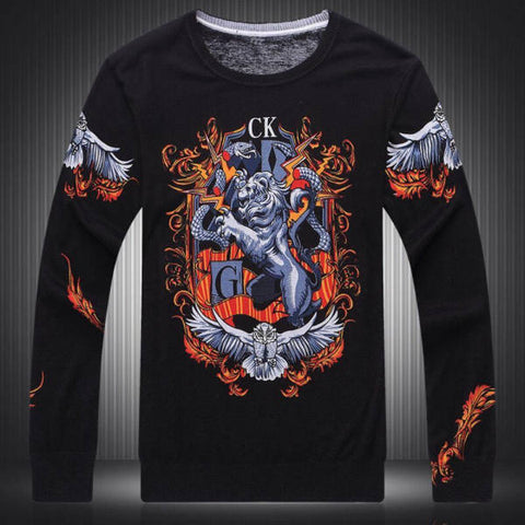 Pull Lion Majestueux