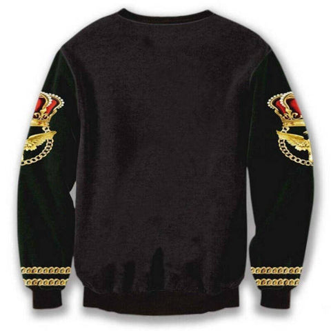 Pull Lion Couronne Royale