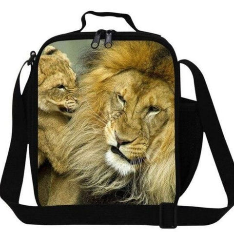 Sac lion câlin