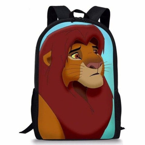 Sac roi lion simba adulte