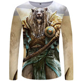 T-Shirt Lion Guerrier