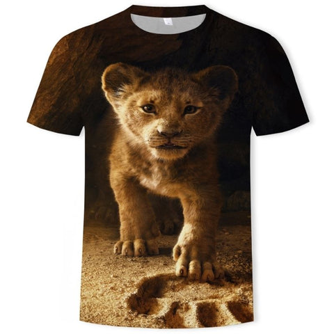 T-Shirt Lion Bébé