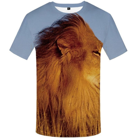 T-Shirt Lion Savane