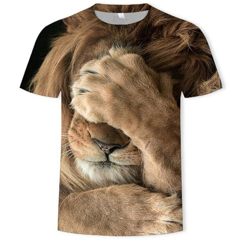 T-Shirt Lion Honte