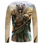 T-Shirt Lion Guerrier Dos