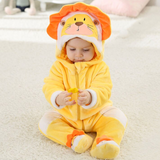 Costume lion bébé.