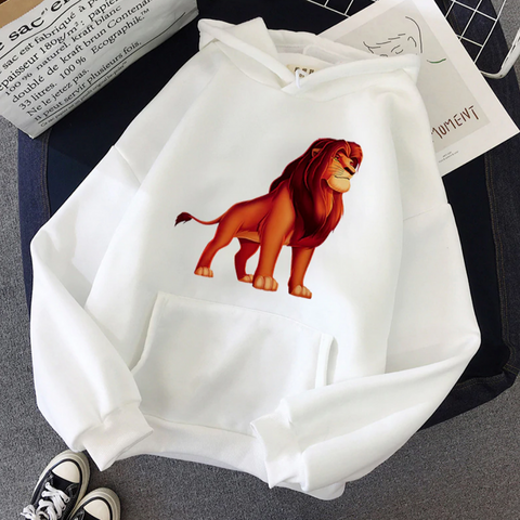 Sweat le roi lion blanc mufasa adulte.