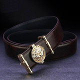 Ceinture marron lion.