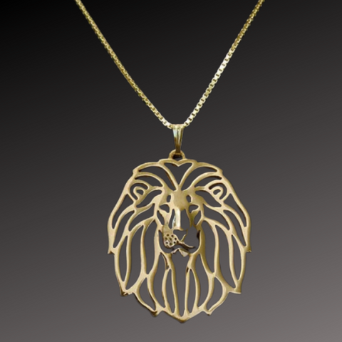 Collier Lion Roi