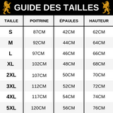 Guide des tailles T-Shirt Lion Talking To Me