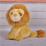 Peluche marron lion.