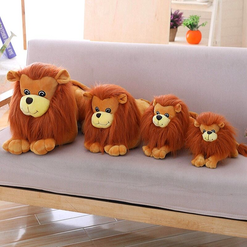 Lions en peluche collections.