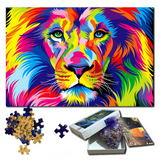 Puzzle 1500 pieces lion.