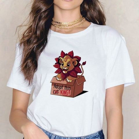 T-Shirt Roi Lion Box photo