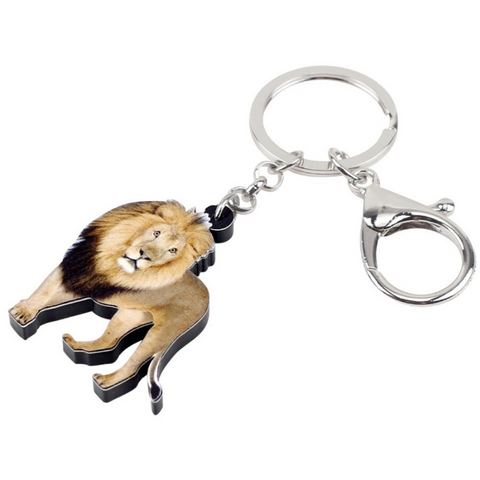 Porte Clés Lion Élégance photo
