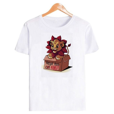 T-Shirt Roi Lion Box