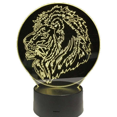 Lampe de Chevet Lion Portrait