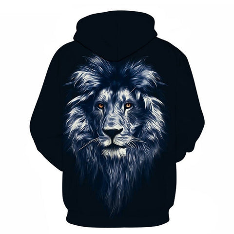 Sweat Lion Homme dos