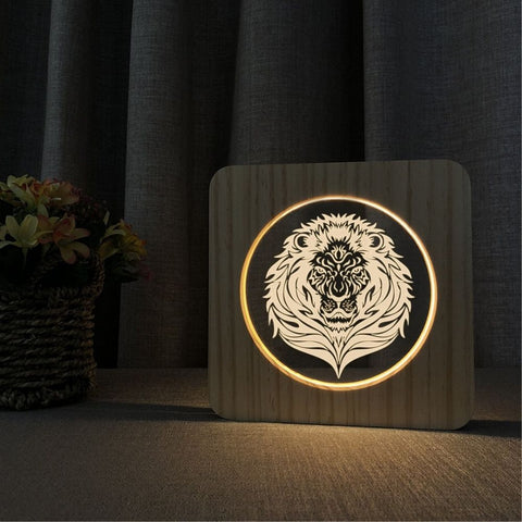 Lampe de Chevet Lion Design