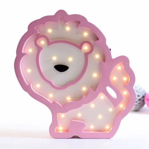 Lampe Chevet Enfant Lion