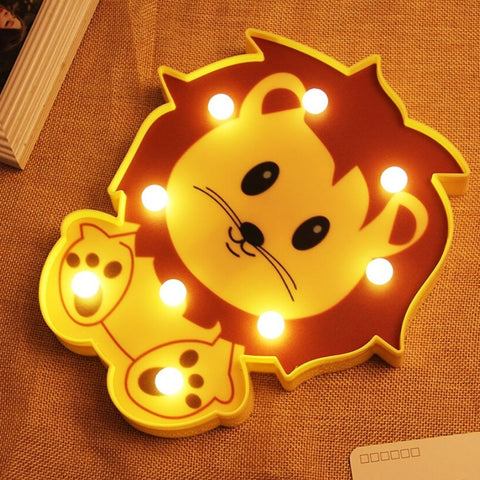 Lampe de Chevet Enfant Lion