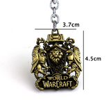 Porte Clés Lion Warcraft dimensions