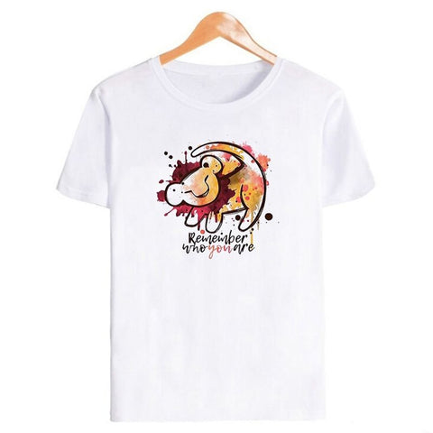 T-Shirt Roi Lion Homme Remember | Lion Royaume