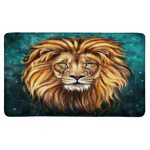 Tapis lion constellation.