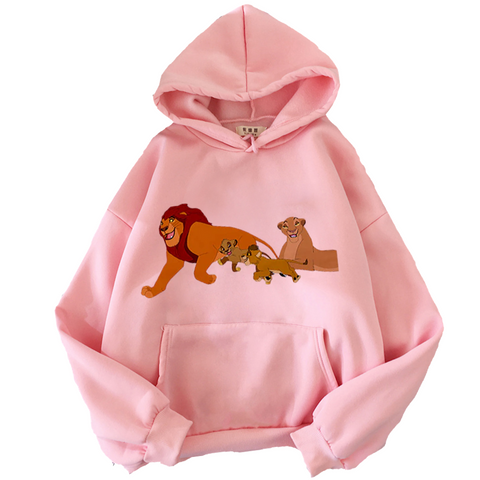 Sweat la garde du roi lion rose.