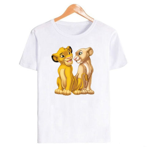 T-Shirt Roi Lion Love
