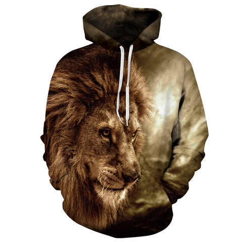 Sweat Lion Intrépide