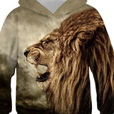 Sweat Lion Enfant Roi dos