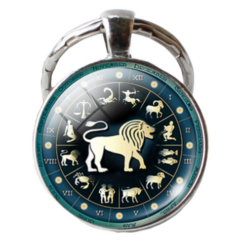 Porte Clés Lion Constellations